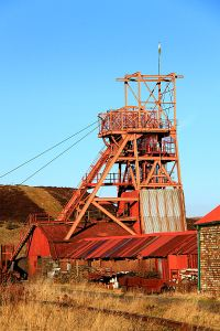 Emboldened by the course I submitted a proposal for a compendium book describing bus routes in Britain and was commissioned to write one of the chapters.  So taking advantage of one of the rare sunny days I set out to photograph some of the key points of interest on the route including Big Pit Mining Museum.