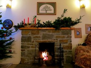 While I wait I think I'll sit round the Christmas fire and look forward