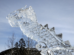Ice serpent