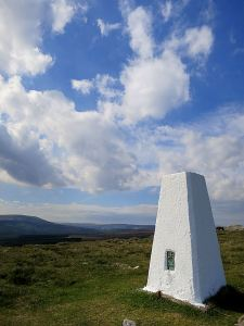 I gave the 'White Stone', as Mynydd Garn Wen is known locally, a fresh coat of paint