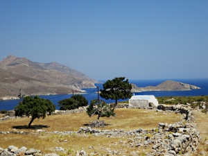 The welcome sight of Agios Ioannis, straightforward from here