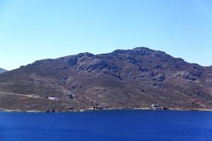 Closer view of Vounos