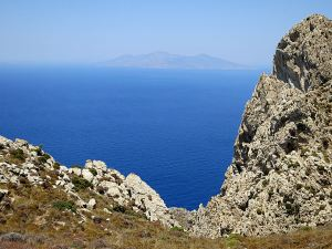 Looking across to neighbouring Nisyros