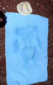 Not the Turin Shroud ... just the Tilos Towel