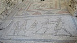 More extensive floor mosaics here