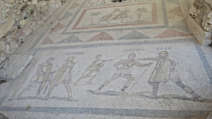 More extensive floor mosaics here