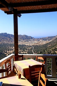 The unique Balcony Taverna