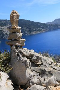 One of the more artistic cairns