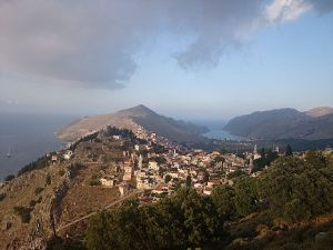 The strange light across Horio and the Pedi Valley